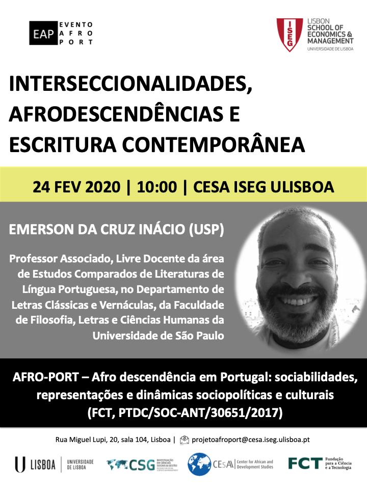 Cartaz Interseccionalidades